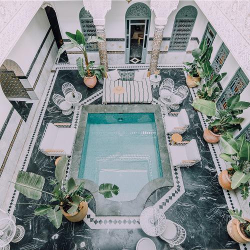 créer un site hotel marrakech